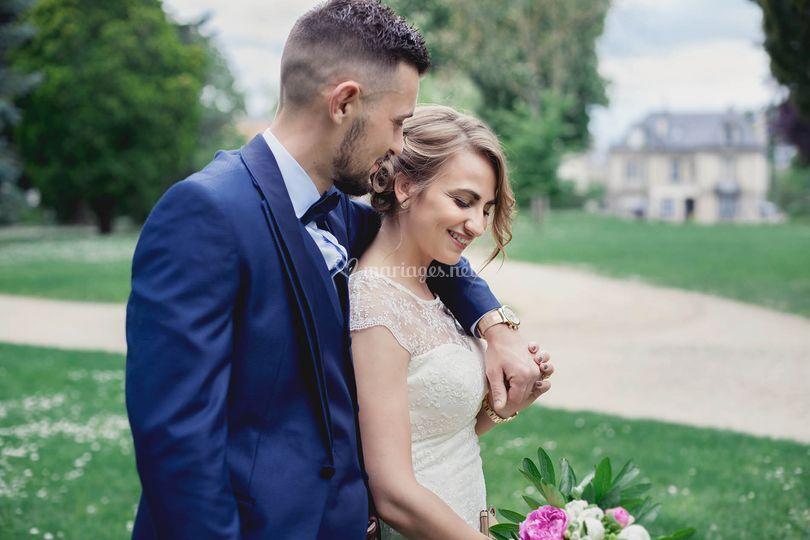 Photo de mariés à Soissons