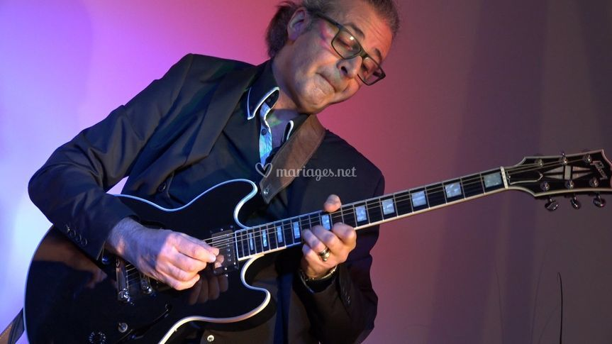 Philippe guitariste Jazz