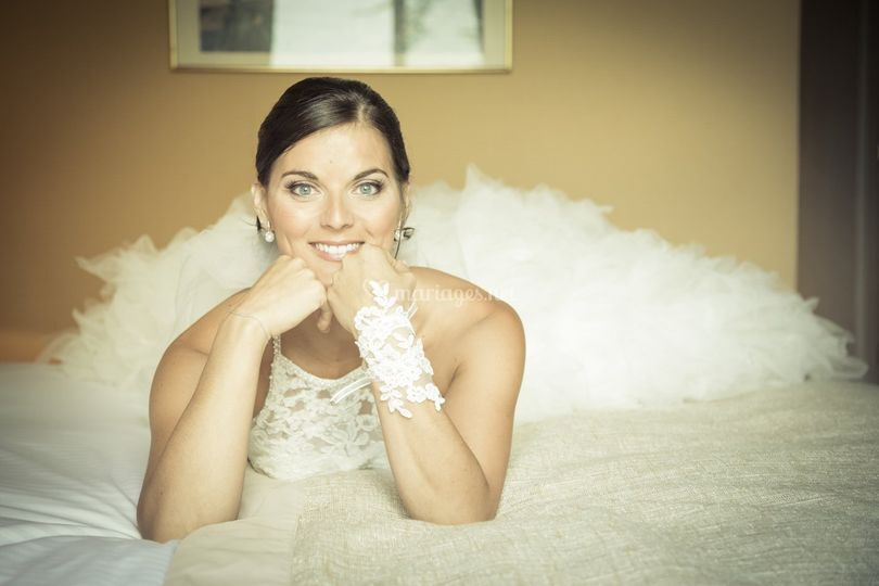 Portrait mariée Divonne