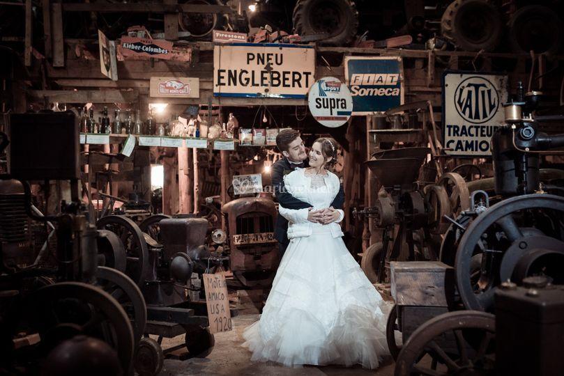 Couple émotion garage