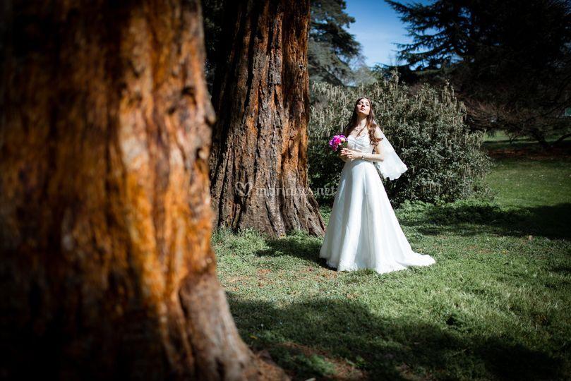 Portrait mariée Sequoia Genève