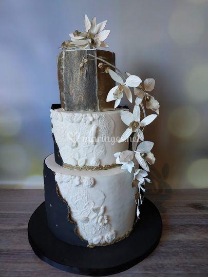 Wedding cake - LCD