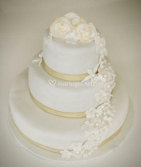 Wedding cake 130 parts