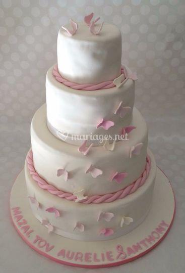 Wedding cake 280 parts