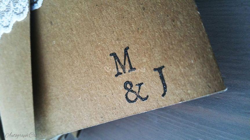Faire-part champêtre - M&J