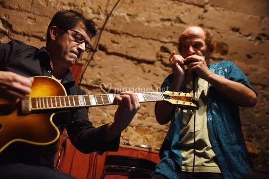 Duo Jazz harmonica guitare