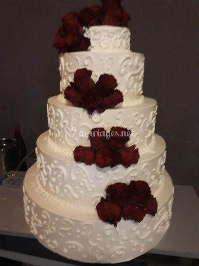Wedding cake à la française