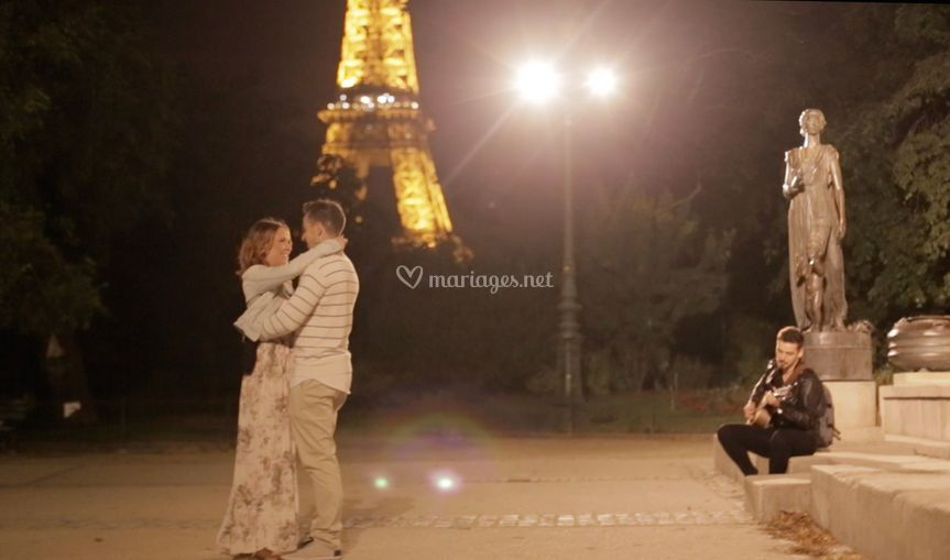 Proposal with Glam'