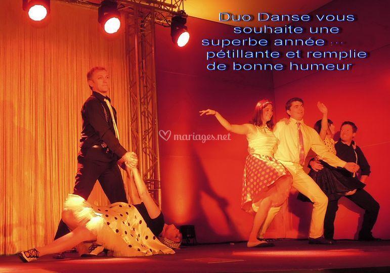 Duo danse - démonstration