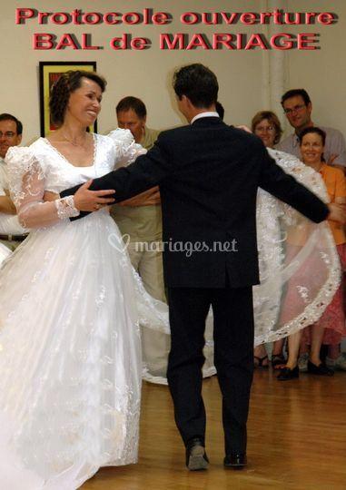 Duo danse - bal de mariage