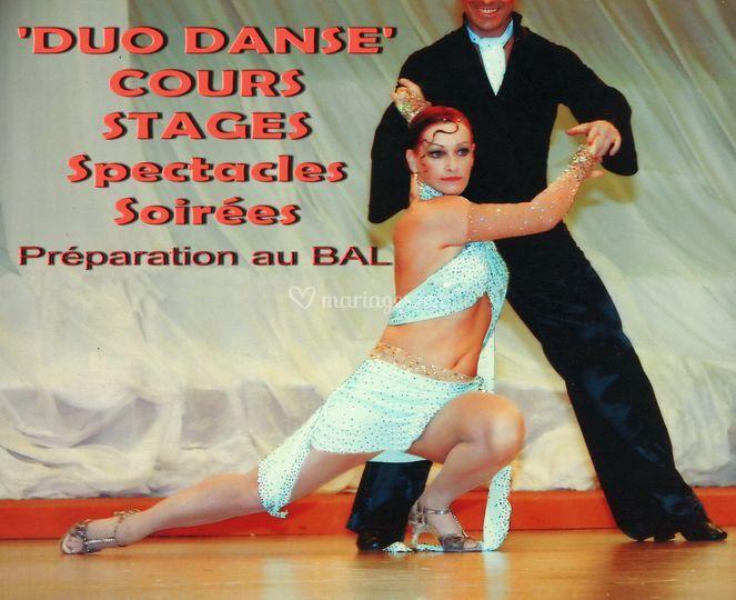 Duo danse. Tango
