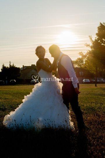 Mariage Sunset à Malesherbes