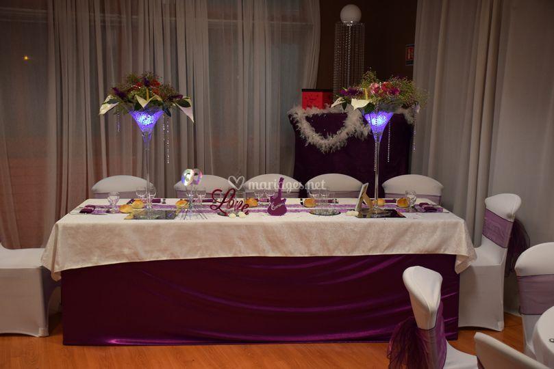 La vie en violet