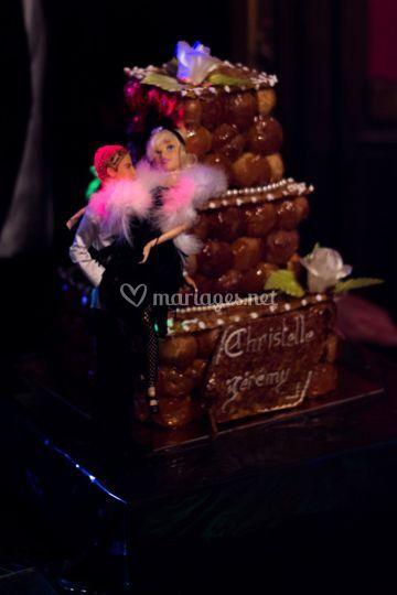Wedding cake en choux