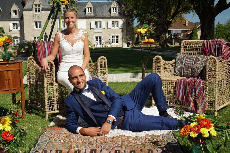 Mariage chateau d'Amondans