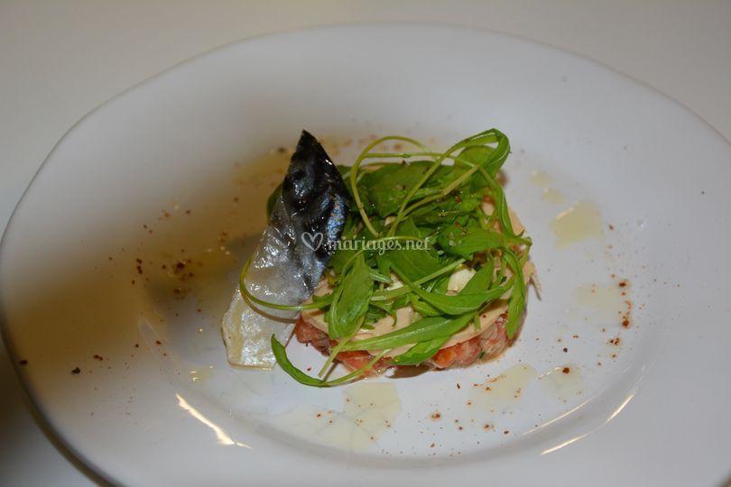 Homard et foie gras