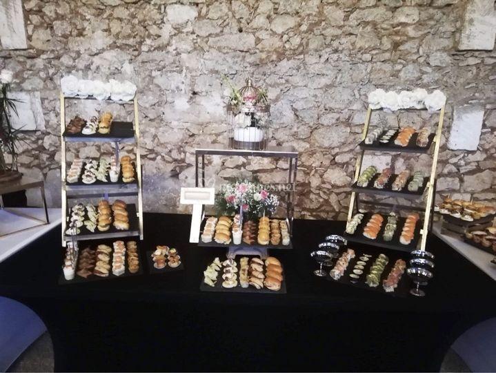Un buffet unique