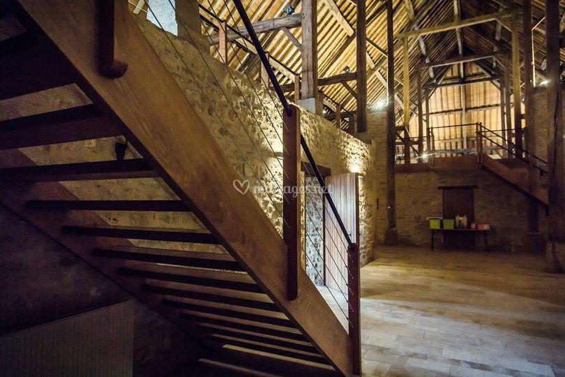 Escalier grange