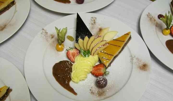 Assiette gourmande de desserts