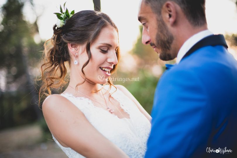 Chignon mariée en Provence
