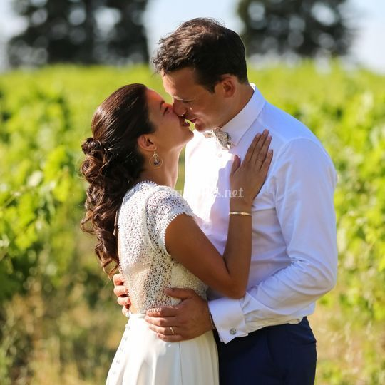 Chignon mariée mariage