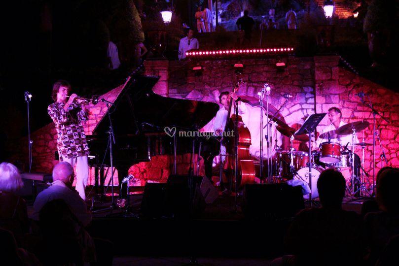Concert de jazz Villa Domergue