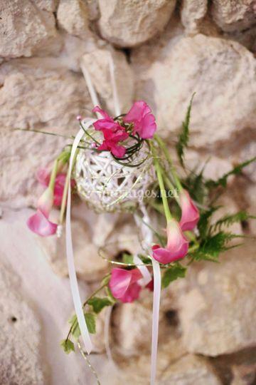 Un bouquet de mariée original
