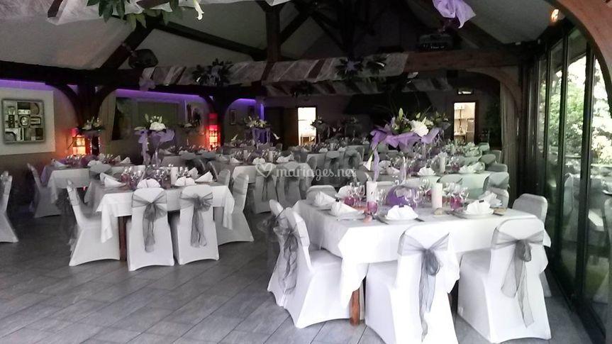 Décoration salle mariage