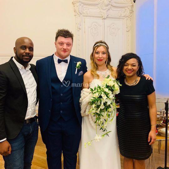 Mariage de Sibel et John