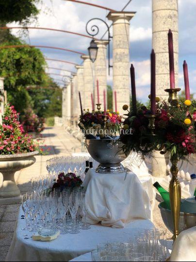 Cocktail terrasse