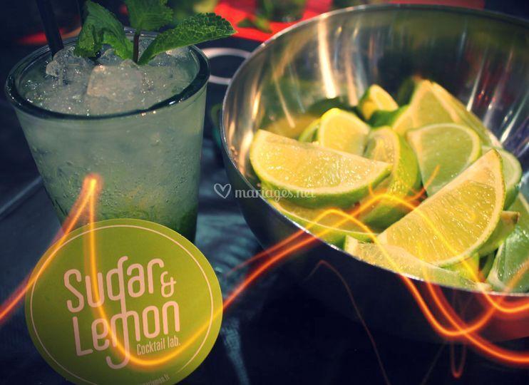 Cocktail Sugar & Lemon