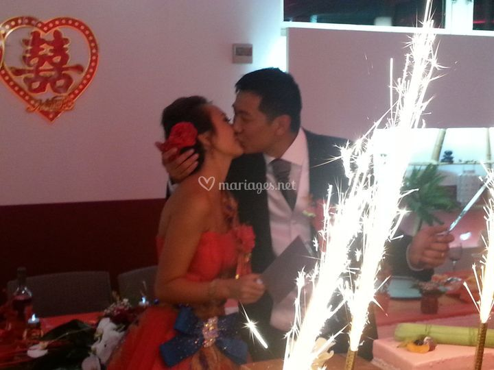 Mariage chinois 180 pers