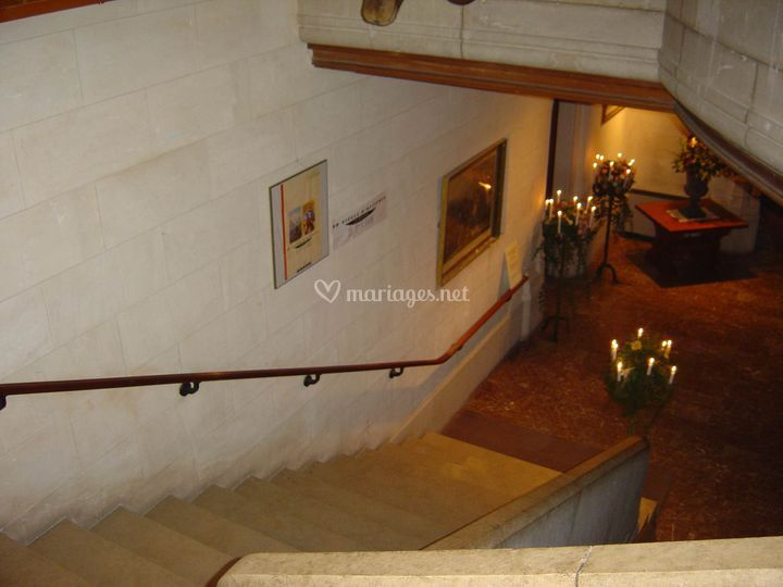 Descente d'escaliers