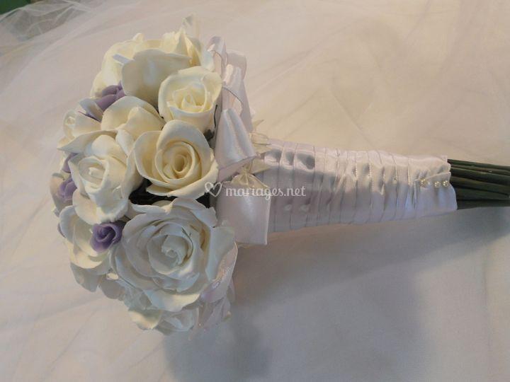 Bouquet mariée éternel
