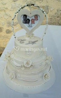 Faux gâteau modelé main