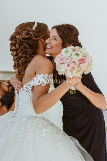 Mère fille mariage E&A