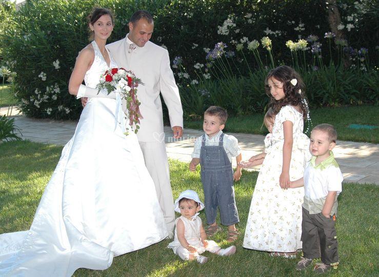 Mariés enfants