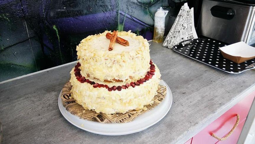 Wedding carrot-cake