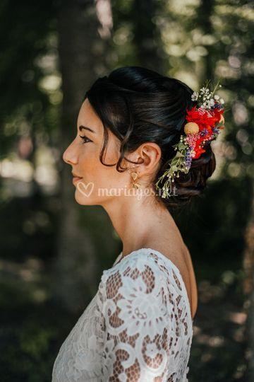 Jour J Audrey fleurs naturelles