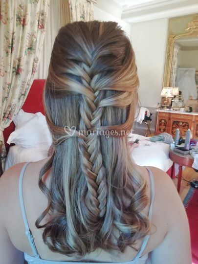 Tresse semi-attachee
