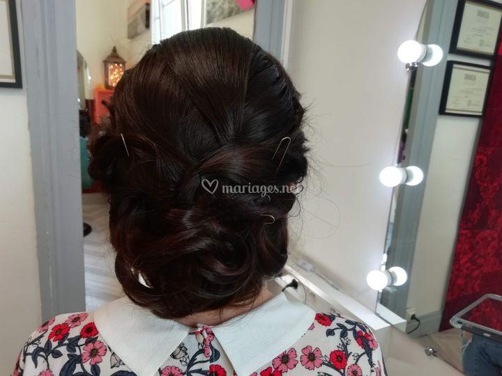 Essai coiffure Audrey