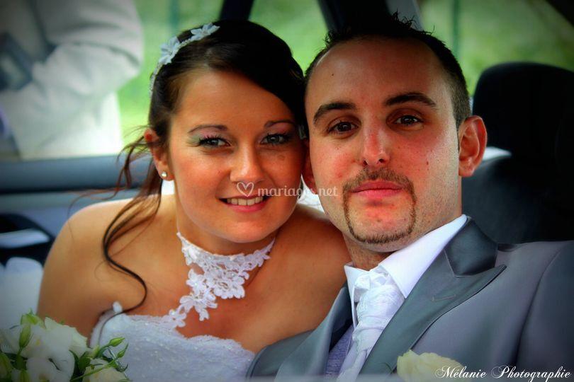 Nos mariés avant la cérémonie