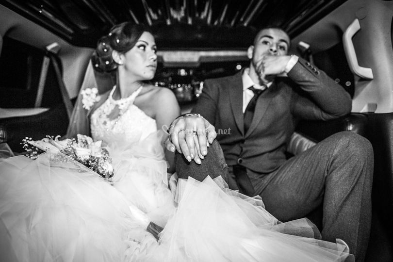 Tout juste mariés
