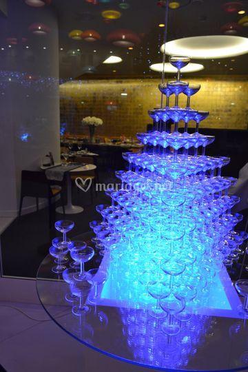 Fontaine de champagnes