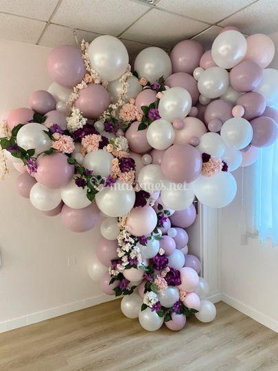 Cascade de ballons