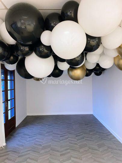 Plafond de ballons