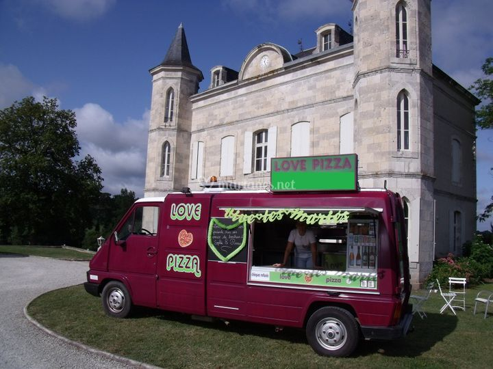 mariage sur love pizza camion pizza - Location Camion Pizza Mariage