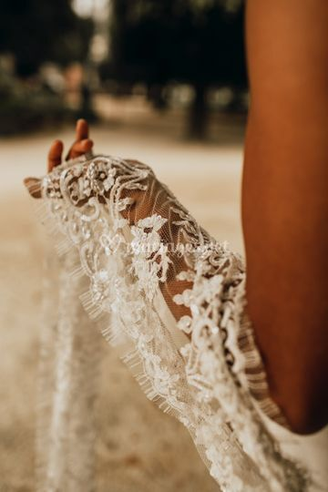 Wedding gown & Lace