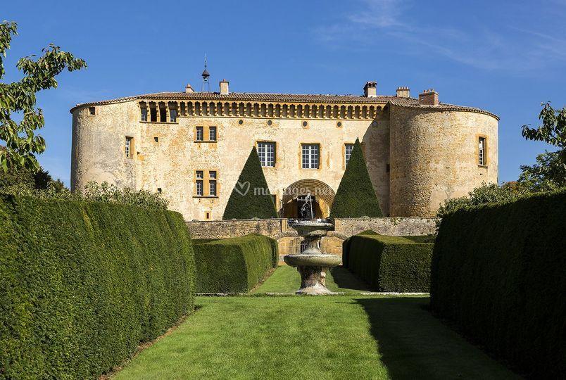 chteau de bagnols - Salle Mariage Beaujolais