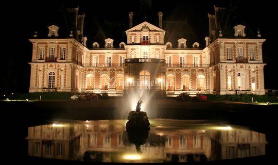 Exterieur nuit de ch teau de baronville photos for Exterieur nuit